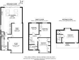 Colby College Floor Plans 3 Bed House Floor Plan Rear Extension Google Search Kitchens