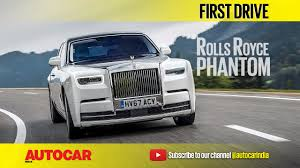roll royce india 2018 rolls royce phantom video review autocar india