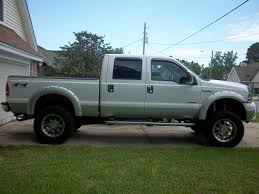 2000 F250 Lifted How Much Lift For 37 U0027s Ford Powerstroke Diesel Forum