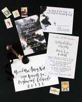 modern wedding invitation 30 modern wedding invitations we martha stewart weddings