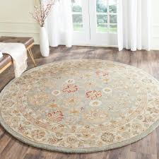 6 X 6 Round Area Rugs by Blue And Brown Round Area Rugs Creative Rugs Decoration