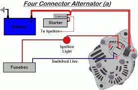 wiring diagram for alternator u0026 alternator rotor