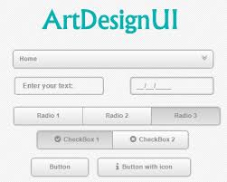 jquery design elements artdesignui jquery library to style web elements jquery plugins