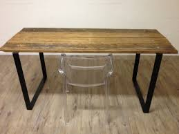 reclaimed wood table with metal legs wood dining table with metal legs 14