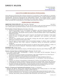 Keywords For Human Resources Resume Hr Resume Objective Resume Templates