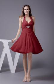 dark red color bridesmaid dresses uwdress com
