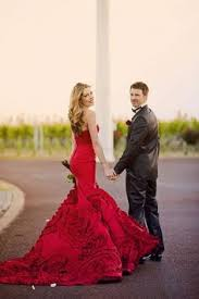 fab bridal alternatives to the white wedding dress red wedding