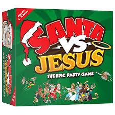 santa vs jesus the epic party card game u2013 komo games