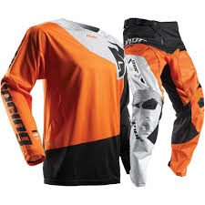 blank motocross jersey thor 2017 mx new fuse pinin jersey pants orange black grey