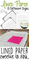 Preschool Writing Paper Template 184 Best Blank Writing Templates Images On Pinterest Writing