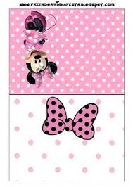 free 3 bow cupcake topper printables bow cupcakes minnie