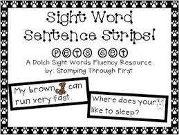 35 best sight words images on pinterest dolch sight words