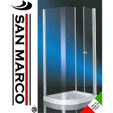 ferbox cabine doccia box doccia 70x90 angolare anta fissa e battente san marco