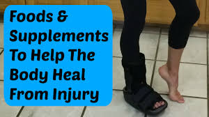 foods and supplements to speed healing from a bone break or injury