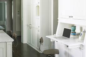 built in desk transitional kitchen brian watford interiors
