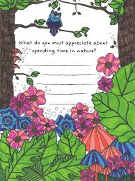 nature coloring page from tiny buddha u0027s gratitude journal tiny