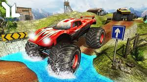 monster truck video game play monster truck hill racing monster trucks max speed ios android