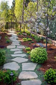 Types Of Garden Paths Plants For Stepping Stone Paths Terra Ferma Landscapes