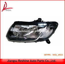 dacia logan 2013 head lamp 260601236r 260105344r headlights for