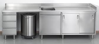 cuisine tout inox plan de travail inox cuisine professionnel maison design bahbe com