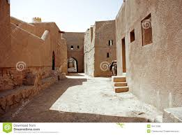 Pueblo Adobe Houses by Historic Adobe Houses In Oman Royalty Free Stock Image Image