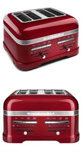 Kitchen Aid Toaster Red - toasters 77285 kitchen toaster 4 slice commercial chrome bread