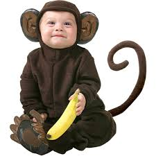 Baby Halloween Costumes 3 6 Months Amazon Cute Infant Baby Monkey Halloween Costume 12 18