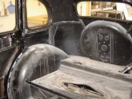 Upholstery Restoration 1938 Standard Flying 10 Gallery Pauls Custom Interiors Auto