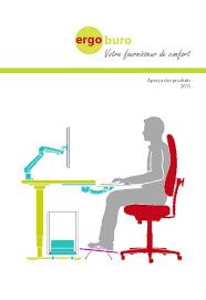ergonomie bureau ordinateur ergoburo accessoires ergonomiques pour le bureau québec