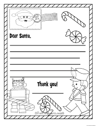 wish list coloring page
