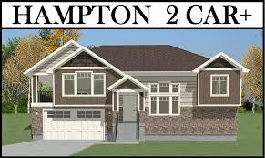 Home Design Plans Utah by Hampton 2 Car 4 Bed 1775 Uphill Lot Plan U2013 Utah Home Design