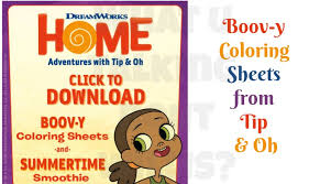 boov y coloring sheets from tip u0026 oh