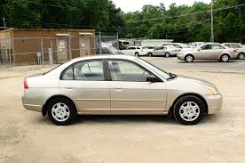 2002 honda civic lx tan sedan used car sale