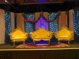 wedding decorations glamour wedding stage decoration