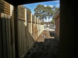 fence builder paling fences picket merbau colour steel timber