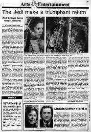 the triumphant u0027return of the jedi u0027 1983 review ny daily news