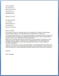 business analyst cover letter examples accounting finance cover