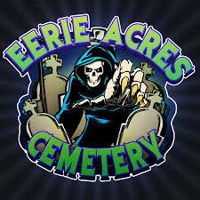 grave digger spirit halloween eerie acres cemetery youtube