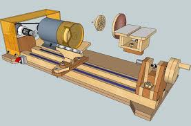 crafters homemade lathe plans