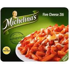 Five Cheese Marinara Sauce On Cavatappi Pasta With Chicken Meatballs - de west wind michelina s five cheese ziti 8 5 oz