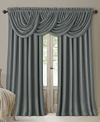 Silver And Blue Curtains Curtains And Window Treatments Macy U0027s