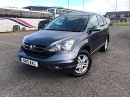2010 new model 4x4 diesel honda cr v very low mileage full service