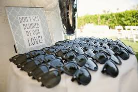 favors wedding wedding favor sunglasses the destination wedding jet fete
