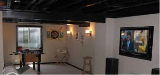 charming design basement ceiling ideas basement finished ideas