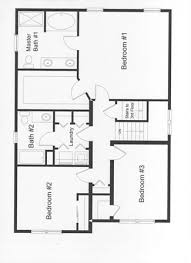 floor plans 3 bedroom 2 bath 3 bedroom floor plans monmouth county county new jersey