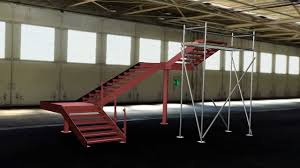 3d cad animation feature steel staircase design u0026 fabrication