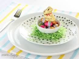 Easter Table Setting Easter Decorating Ideas A Spoonful Of Sugar