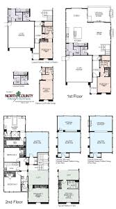 Single Family Floor Plans Westerly At Rancho Tesoro New Home Floor Plans North County New
