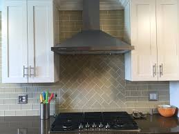 subway tile colors l shape dark brown wood cabinet frame small