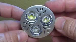 Led Light Bulb Mr16 by Mr16 3w 3 Led 270 Lumen 3200k Warm White Light Bulb 12v Review